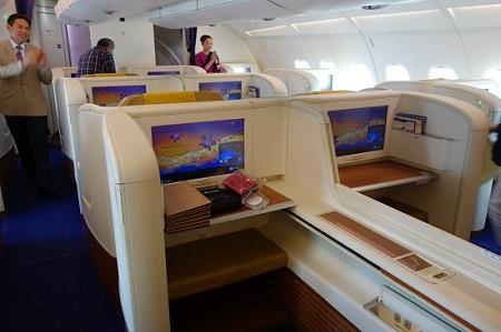 タイ航空A380&B747 初めてのファーストクラス搭乗記