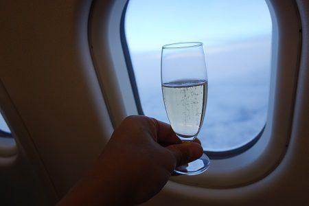 CX香港線ファーストクラスの特典航空券を発券しました