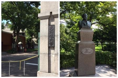 北海道大学の正門