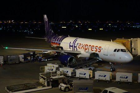 香港エクスプレスのスイートシートを体験。成田から香港へ。搭乗記。