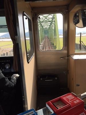 徳島で電車に乗る