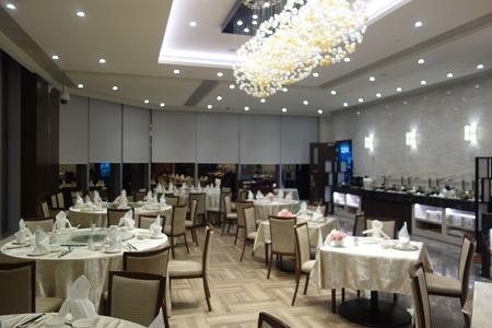 香港ヒルトンのレストラン