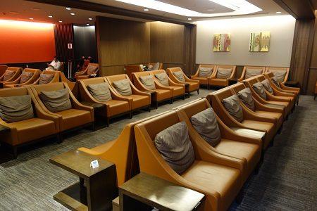 関西空港国際線JALサクララウンジを体験しました