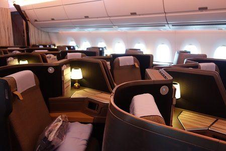 チャイナエアラインA350ビジネスクラス 関空から台北へ