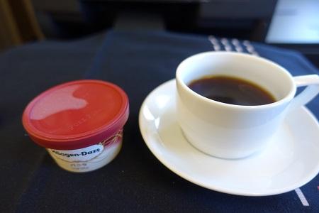 JAL国際線国際線食後のデザート
