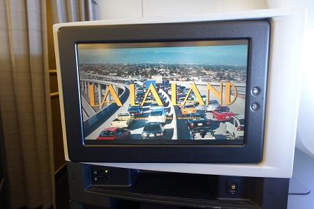 機内で映画
