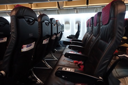 JAL国内線の普通席