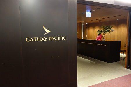 台北桃園空港のキャセイパシフィック航空ラウンジは凄かった!