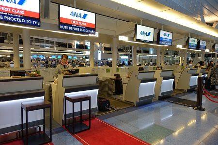 羽田空港ANAスイートラウンジの『DINING h』を体験