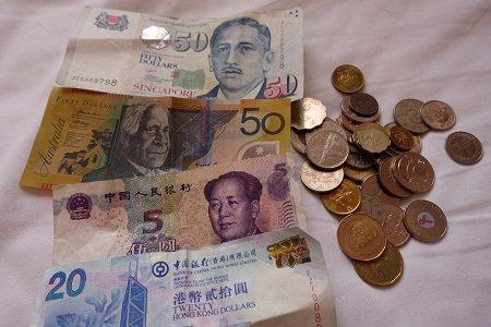 ポケットチェンジは超便利!海外旅行で余った外貨を電子マネーに!