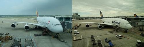 アシアナ航空とルフトハンザ航空のA380を体験。ビジネスクラス搭乗記
