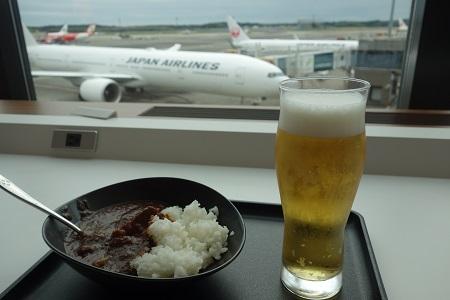 成田空港のサクララウンジ