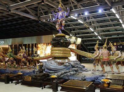 バンコク・スワンナプーム空港のスターアライアンス・ラウンジ。アクセス、利用方法まとめ