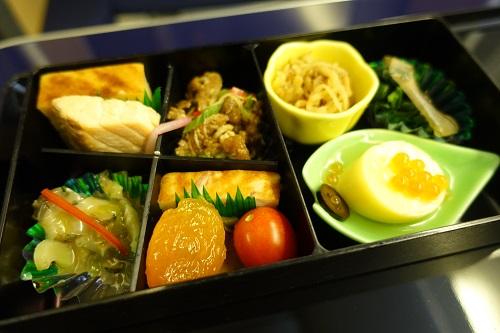 機内食の数々