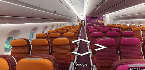 タイ航空A350エコノミー