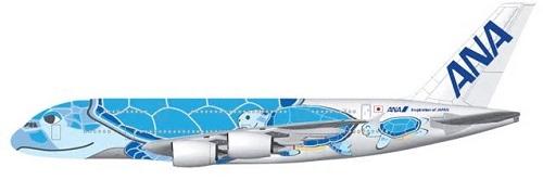 ANAのA380機材