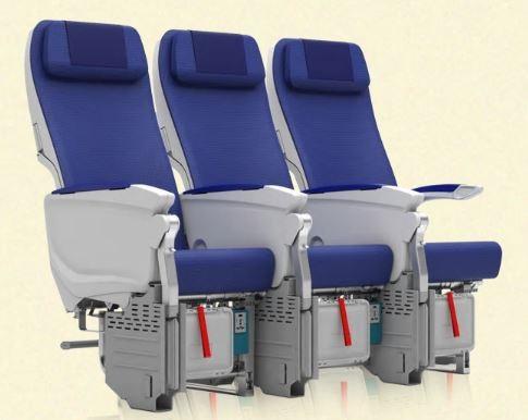 ANAのA380エコノミークラス