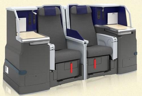 ANAのA380ビジネスクラス