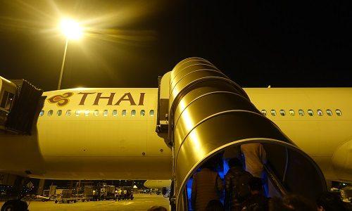 タイ航空ビジネスクラスの楽しみ方。スワンナプーム空港で特別感を味わう。