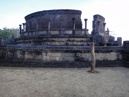 スリランカの遺跡