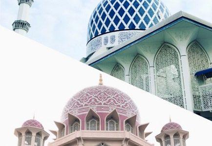 クアラルンプールのブルーモスク&ピンクモスクへ。マレーシア観光に最高におすすめ!