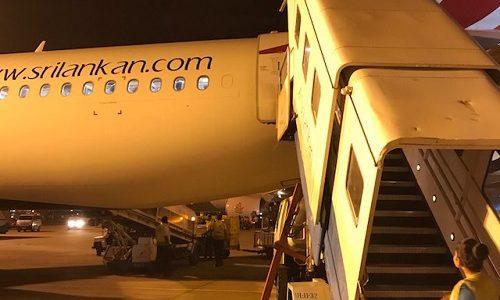 機内食が最高に旨かったエコノミークラス。スリランカ航空を利用しての感想。