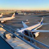 羽田空港で見たANAとJAL