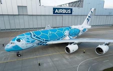 ANAのエアバスA380
