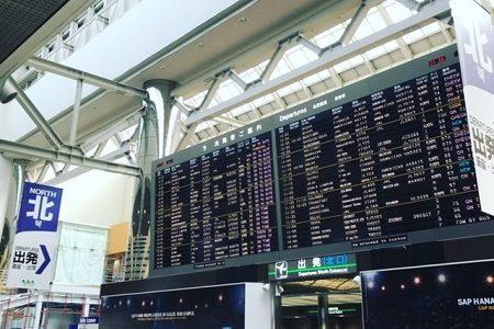 成田空港の搭乗手続きが変わる!JALとANAが顔認証の導入へ。今後は羽田空港も?