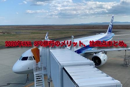 ANA SFC修行のメリット、注意点、おすすめルートまとめ。2021年は初回搭乗で3,000ポイント!
