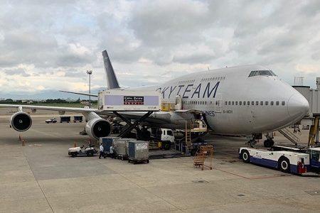 ボーイング747を楽しむ。チャイナエアラインで台湾から香港へ。