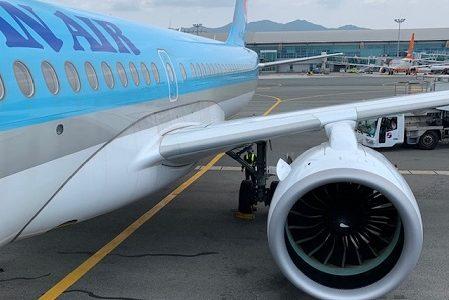 スカイマイルで釜山へ!大韓航空の最新エアバスA220搭乗記。