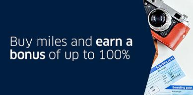 ユナイテッド航空マイル購入セール開始!最大100%ボーナスで11月5日まで。