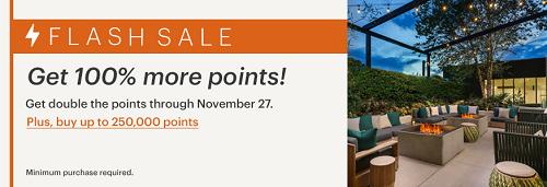 IHGポイント購入で100%ボーナスセール開始。11月27日まで。おすすめの使い道を紹介!